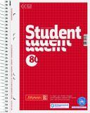 BRUNNEN Collegeblock Student Recycling DIN A5 kariert mit Rand