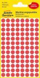 Avery Zweckform Markierungspunkt 8mm rot