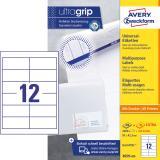 Avery Zweckform Universaletikett ultragrip 3659-200 97 x 42,3 mm weiß