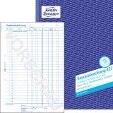 Avery Zweckform Kassenabrechnung DIN A4, 427