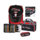 SCOUT Schulranzenset Sunny II Premium Monza 4-teilig