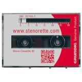 Grundig Diktierkassette Steno-Cassette 30