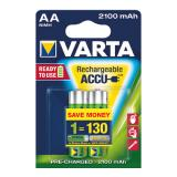 Varta Akku Ready2Use Mignon/AA 2 St./Pack. 2.100 mAh