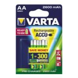 Varta Akku Ready2Use Mignon/AA 2 St./Pack.