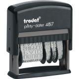 trodat® Wortbandstempel Printy Dater 4817 8 x 7 x 2,5 cm (BxHxT)