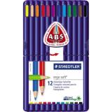 STAEDTLER® Farbstift ergo soft® 157 Aufstellbox 12 St./Pack.