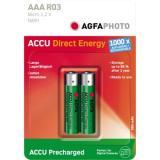 AgfaPhoto Akku Direkt Energy Micro/AAA