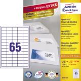 Avery Zweckform Universaletikett 38 x 21,2 mm (B x H)