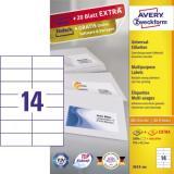 Avery Zweckform Universaletikett 3.080 Etik./Pack.