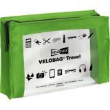 Veloflex Reißverschlusstasche VELOBAG® Travel grün, transparent