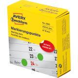 Avery Zweckform Markierungspunkt 19 mm grün