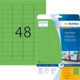 HERMA Universaletikett SPECIAL 45,7x21,2 mm 960 Etiketten grün