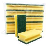 Reinigungsschwamm 15 x 4,5 x 7 cm gelb, grün