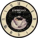technoline® Wanduhr Espresso WT 1015