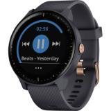 Garmin Smartwatch vívoactive® 3 Music granitblau, rosegold
