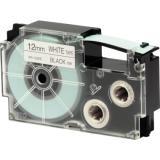 Casio Schriftband XR-12WE 12mmx8m schwarz auf weiß
