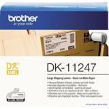 Brother Etikett DK11247 103x164mm weiß 180 St.Pack.