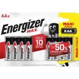 Energizer Batterie Max Alkaline AAMignonLR6 8 St.Pack.