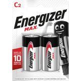 Energizer Batterie Max Alkaline E302306700 CBabyLR14 2 St.Pack.