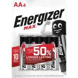 Energizer Batterie Max Alkaline AAMignonLR6 4 St.Pack.