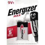 Energizer Batterie Max Alkaline 9VE-Block6LR61