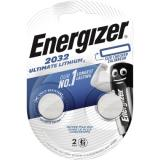 Energizer Knopfzelle CR 2032 E301319301 Lithium 2 St.Pack.