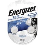 Energizer Knopfzelle CR 2025 E301319401 Lithium 2 St.Pack.