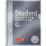 BRUNNEN Collegeblock Student Premium DIN A5 kariert