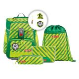 Step by Step Schulranzenset SPACE NEON 00183763 Funky Soccer
