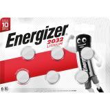 Energizer Knopfzelle E301626300 3v Lithium CR2032 6 St.Pack.