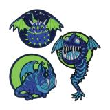 SCOUT Funny Snaps 26360056300 Flying Monsters 3 St.Pack.