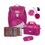 SCOUT Schulranzenset Alpha 74400684300 Pretty Pink 4teilig
