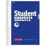 BRUNNEN Collegeblock / Schulblock DIN A4, Lineatur 27, 80 Blatt