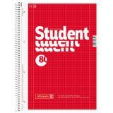 BRUNNEN Collegeblock / Schulblock DIN A4, Lineatur 28, 80 Blatt