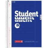 BRUNNEN Collegeblock / Schulblock DIN A4, Lineatur 25, 80 Blatt