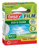 tesa® Klebefilm tesafilm® Eco & Clear 19 mm x 33 m (B x L)