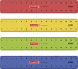 BRUNNEN Flexilineal 15 cm farbig