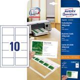 Avery Zweckform Visitenkarte Superior 100 St./Pack.