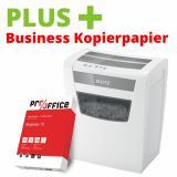 LEITZ IQ Aktenvernichter Home Office inkl. 1 Business Kopierpapier