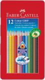 Faber-Castell Farbstift Colour GRIP 12 St./Pack.