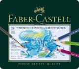 Künstler-Aquarellstift ALBRECHT DÜRER®, 24 Farben sortiert im Metalletui