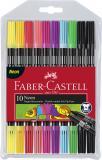Faber-Castell Doppelfasermaler 10er Etui neon