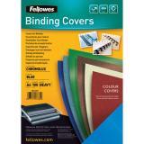 Fellowes® Einbanddeckel Chromolux blau