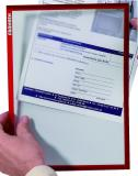 Franken Dokumentenhalter Frame It X-tra! Line DIN A4 rot
