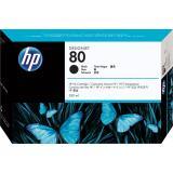HP Tintenpatrone 80 350 ml schwarz