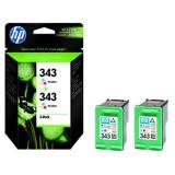 HP Tintenpatrone 343 ca. 2 x 330 Seiten