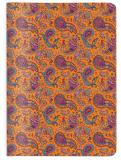 "CEDON Notizheft A6 ""Paisley orange"""