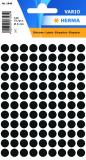 HERMA Markierungspunkt 8mm schwarz