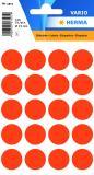 HERMA Markierungspunkt 19mm, Kleinpackung, rot