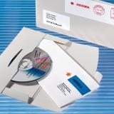 HERMA CD/DVD Versandtasche Steckverschluß